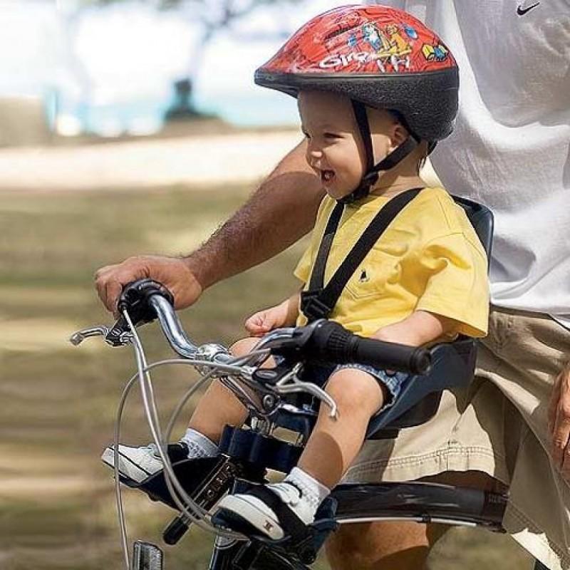Velotority PORTEBÉBÉ AVANT BOBIKE ONE MINI NOIR - Vélo porte bébé